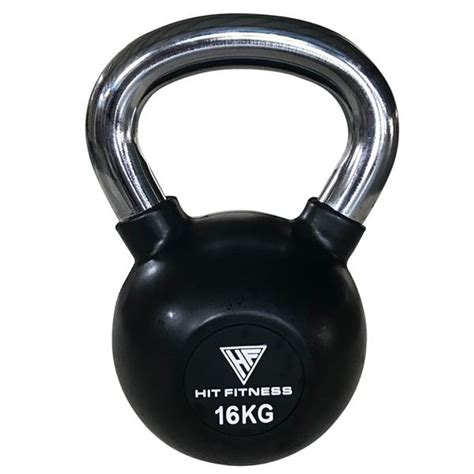 kettlebell 16kg handle chrome