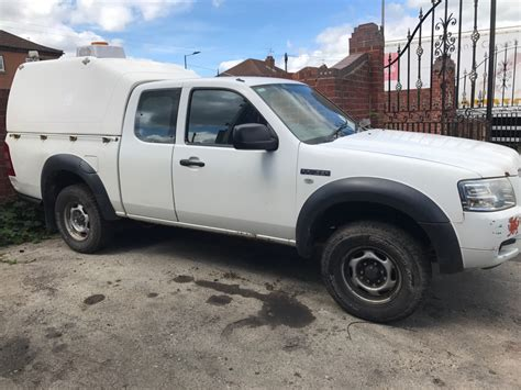 2008 57 regd ford ranger space cab 4x4 non runner direct council warranted mil