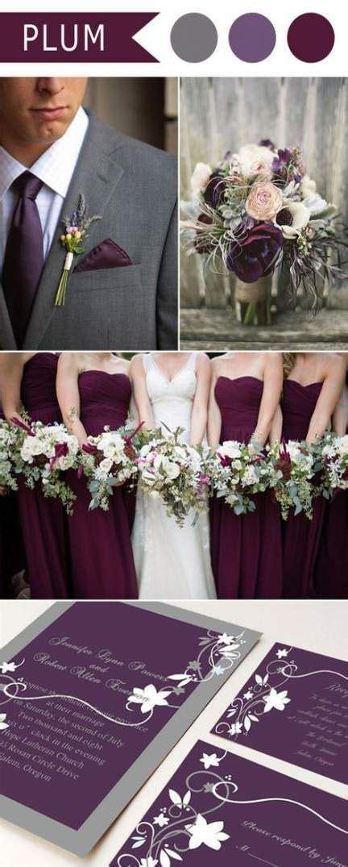 ideas wedding burgundy plum beautiful   plum