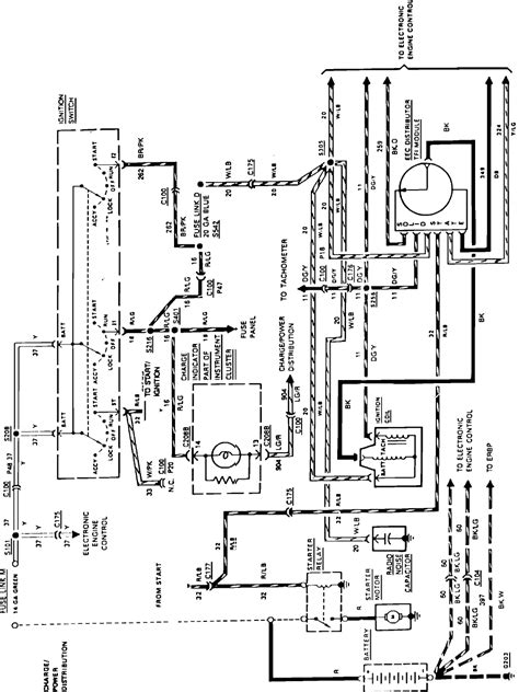 F350 Ignition Wiring Diagram by Do You A Wiring Diagram For A 1987 F250 With A To Be