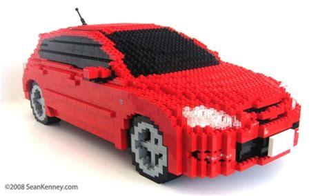 sean kenney art  lego bricks mazdaspeed