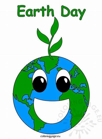 Earth Clip Clipart Happy Coloring Cliparts Library