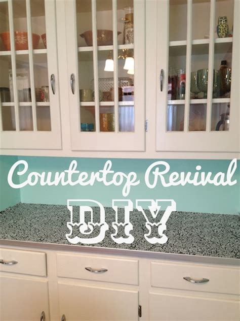 Simple Revival Ideas Photo by Diy Countertop Revival Rental Revival