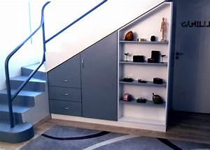 Escalier Sur Mesure Prix : meuble sous escalier sur mesure dessinetonmeuble ~ Edinachiropracticcenter.com Idées de Décoration