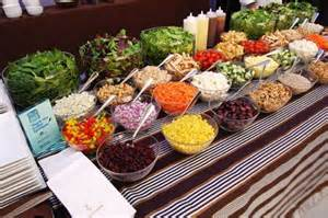 Salad Bar Items Ideas