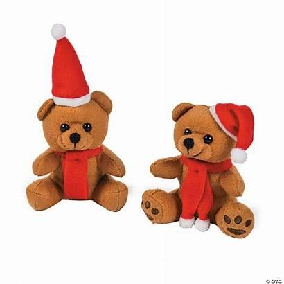 Christmas Bears Plush Mini Toys Stuffed Novelty