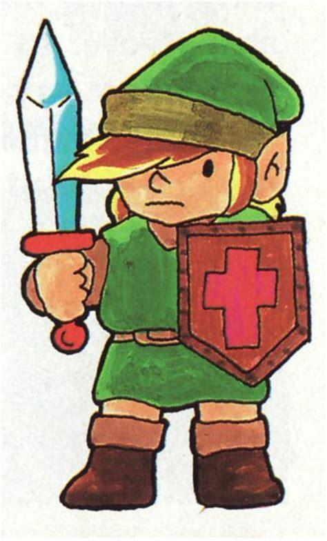 The Legend Of Zelda Nes Link Concept Art Video Games