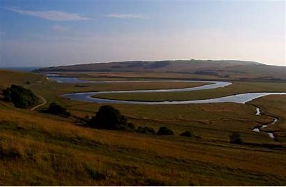 Meander River Cuckmere England Wikipedia Sisters Seven