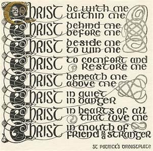 St. Patrick's Breastplate | Treasury of Daily Prayer