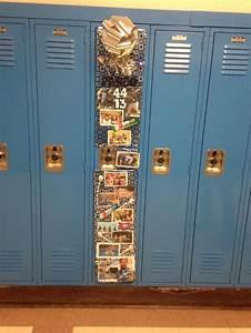 Locker ideas for a boy Locker Decoration Pinterest