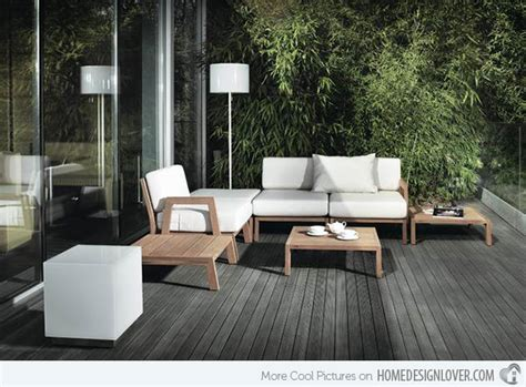 15 ideas for gray wooden decks decoration for house