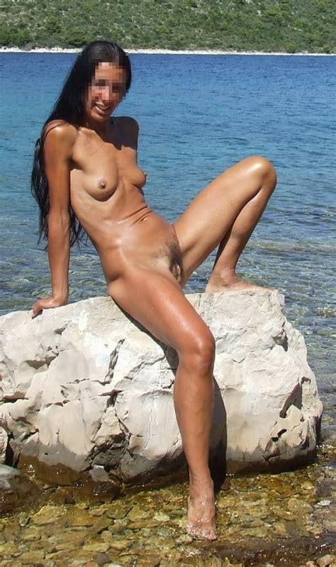 Exib And Sex Pleasure In Croatia Nude Beach By Ahcpl