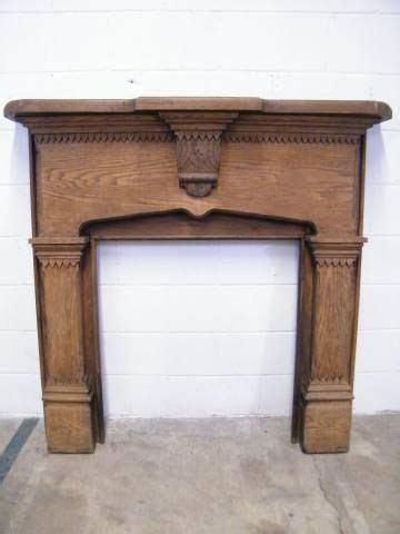 salvaged fireplace mantels for columbus architectural salvage ornate oak mantel for
