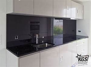 Spiegel Als Küchenrückwand : glas k chenr ckwand mit dunkelbrauner lackierung und ~ Michelbontemps.com Haus und Dekorationen