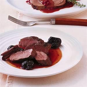 Filet mit Portweinpflaumen Rezept Küchengötter
