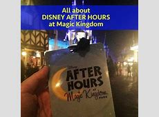 Disney After Hours dates, cost, how to plan your time
