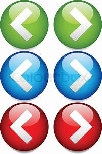 Vector Illustration Of Buttons To Left Stock Vector