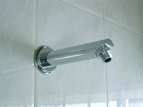 how to install a shower arm the complete guide to removing and installing a new shower