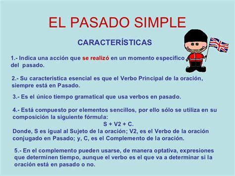 El Pasado Simple