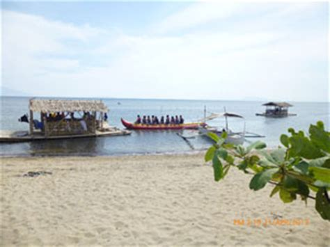 Banana Boat Ride In Batangas by Calatagan Resort White Cing Site In The