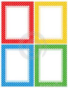 Polka Dot Border Clip Art Free