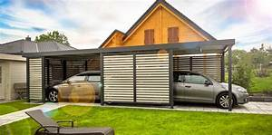 Haus Mit Doppelcarport : der carport von siebau modernes design individuell f r ~ Articles-book.com Haus und Dekorationen