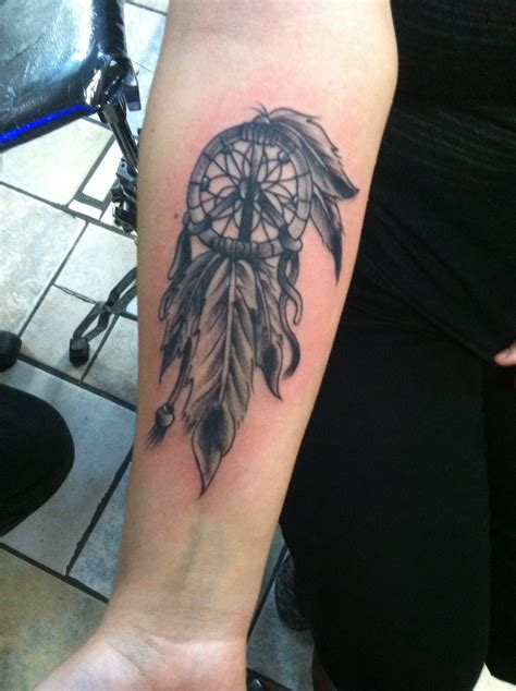 peace sign dreamcatcher tattoo tattoos  guys tattoos peace sign tattoos