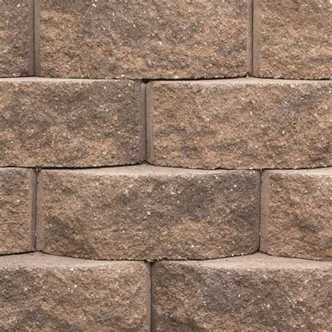 keystone legacy retaining wall blocks rcp block brick