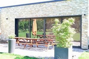 Baie Vitree Coulissante : baie vitr e coulissante ~ Dallasstarsshop.com Idées de Décoration