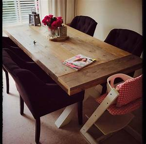 Schiebegardine 300 Cm Lang : eetkamertafel 80 cm breed tot 300 cm lang met houten x poten r de b meubels op maat ~ Markanthonyermac.com Haus und Dekorationen