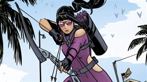 Avengers Endgame Hawkeye Training Kate Bishop How