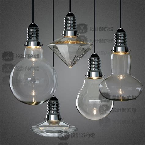 led 3w modern creative glass pendant lights