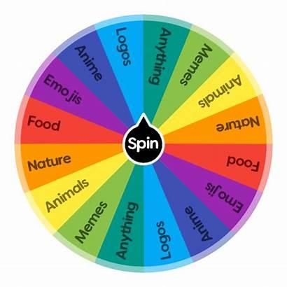 Draw Should App Spin Wheel Choose Logos