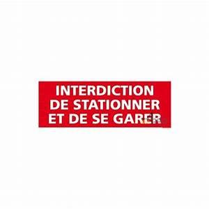 Panneau Interdit De Stationner : panneau rectangulaire interdiction de stationner et de se ~ Dailycaller-alerts.com Idées de Décoration