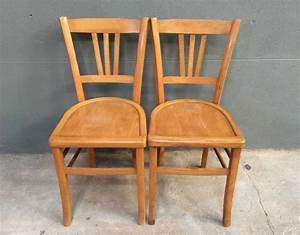 Table Et Chaise Bistrot : ensemble de 8 chaises bistrot style baumann ~ Teatrodelosmanantiales.com Idées de Décoration