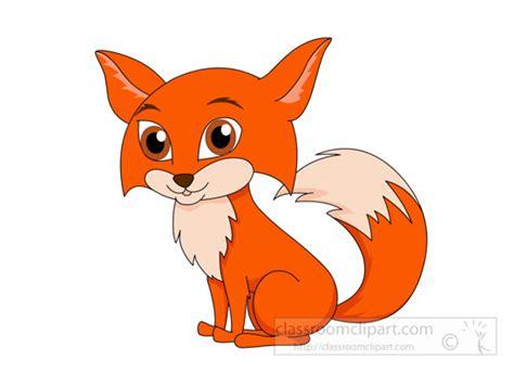 Fox Clipart Clipart- Cute-little-red-fox-116-clipart
