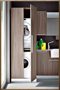 Schrank Waschmaschine Trockner : schrank f r waschmaschine und trockner laundry room laundry room design laundry in bathroom ~ A.2002-acura-tl-radio.info Haus und Dekorationen