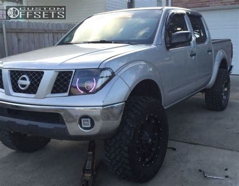 lifted 2006 nissan frontier wheel offset 2006 nissan frontier super aggressive 3 5