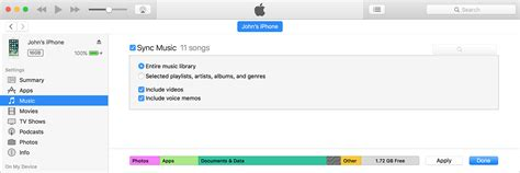 sync itunes to iphone sync your iphone or ipod touch with itunes on your