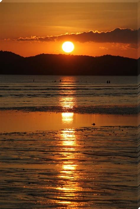 wonderful beach sunset - Sunset Prints by idman - Shop ...