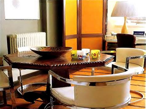 contemporary octagon dining table home decorations function detail in the octagon dining table