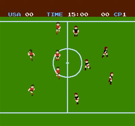 soccer nintendo  game gamefabrique