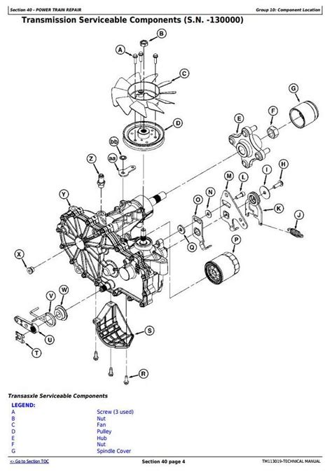 La115 Wiring Diagram by Deere La115 Manual Auto Electrical Wiring Diagram