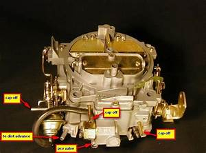 Rochester Carburetor Vacuum Diagram