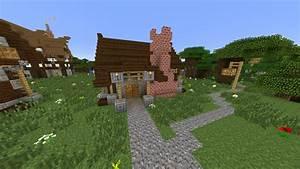 Häuser Im Mittelalter : mittelalter b ckerei in minecraft bauen minecraft ~ Lizthompson.info Haus und Dekorationen
