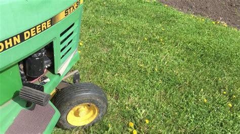 Deere Stx38 Yellow Deck Manual by Deere Stx 38 Mower