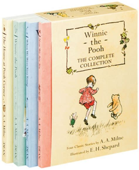 winnie the pooh complete collection pb a a milne new