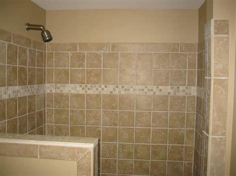 bathroom tile ideas for shower walls shower half wall tile bathroom renovations