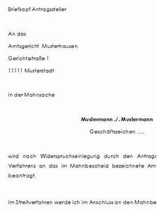 Widerspruch Gegen Baugenehmigung Muster : mahnbescheid und abgabeantrag nach widerspruch des ~ Lizthompson.info Haus und Dekorationen