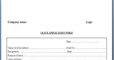 sample  cv resume application letter format  leave